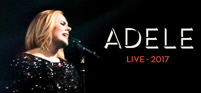 Adele Live Melbourne 19th March 2017 Sunday- 2 Tickets