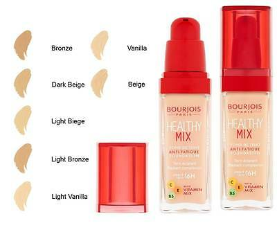 Bourjois Healthy Mix Foundation Healthy Mix 16H Foundation Brand New **choose**