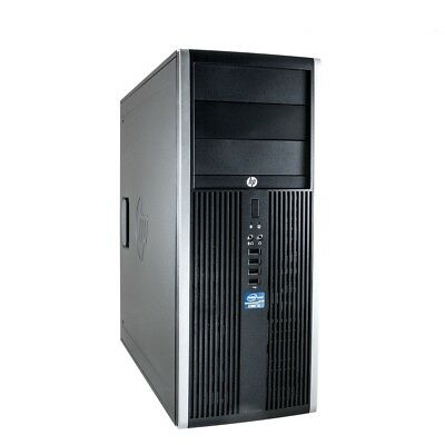 Tower PC HP Elite 8100 Core i5 Computer 4GB RAM 320GB HDD Windows 10 Rechner