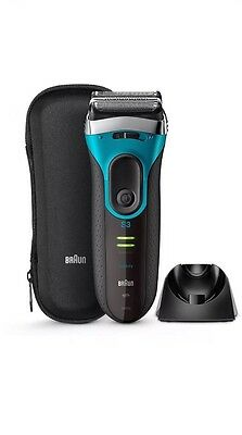 Braun Series 3 ProSkin 3080s Wet and Dry Mens Electric Rechargeable Shaver Razor