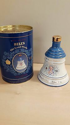 Bells Royal Decanter Queen Mother's 90th Birthday