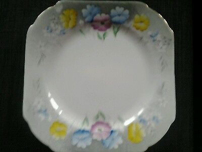 Poppies pattern side plate by Shelley