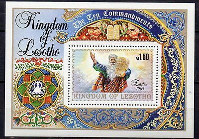 10 X Kingdom Of Lesotho  Easter 1984 Mint Never Hinged