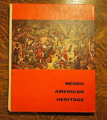 Negro American Heritage TEXTBOOK for California State Series elementary 1967