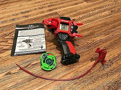 Beyblade Driger Shooter Handle Lcd Launcher + Driger Blade Vgc