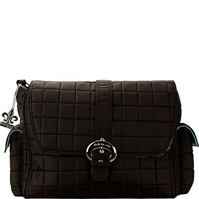 Kalencom 2960-BLACK Featherweight Quilted Nylon Buckle Bag Quilt Black NEW