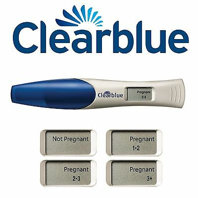 Clearblue Pregnancy Test (2 Tests) Digital with Weeks Indicator
