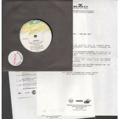 "SYNERGY One Way Only 7"" VINYL UK Dedicated With 2 Page A4 Photocopy-Style Press"