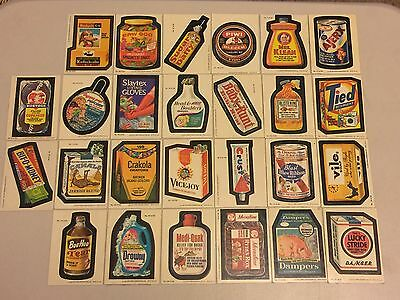 Wacky Packages 1979 LOT 26 Stickers