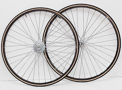 Ruote corsa Campagnolo copertoncino - vintage clinchers wheelset 8 speed