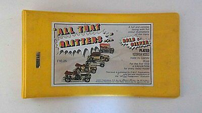 All Our Yesteryears Evaluator Club All That Glitters Plated Model Catalogue
