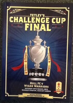 Tetley's Challenge Cup 2013 Final Rugby League Programme & Ticket
