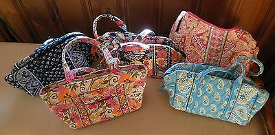 Lot of 5 Vera Bradley Purses Tote Handbags