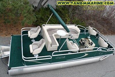 Factory direct pontoon boats-New 20 ft Grand Island G series-500 in stock