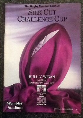 Silk Cut Challenge Cup 1985 Final Rugby League Programme