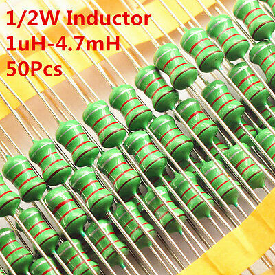 50Pcs 0410 1uH to 1mH to 4.7mH DIP Color Wheel Inductor 10 4.7 470 Inductance