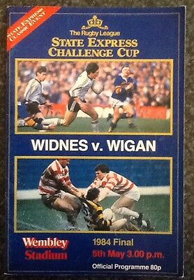 State Express Challenge Cup 1984 Final Rugby League Programme