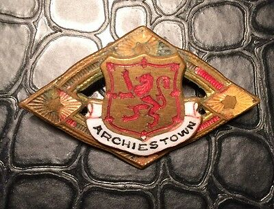 Vintage Archies Town Badge. (Lot 29).