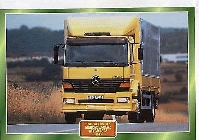 Mercedes-Benz Atego 1823                           Glossy   Picture (T309)
