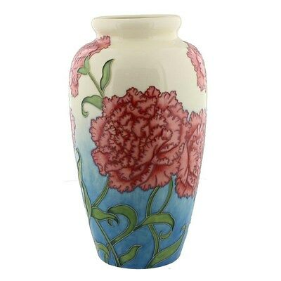 "Old Tupton Ware Carnation Flower Design Vase 11"" TW8016"