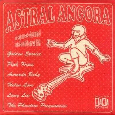 """ASTRAL ANGORA Various 7"""" VINYL UK Nana 6 Track With Insert Includes Golden"""
