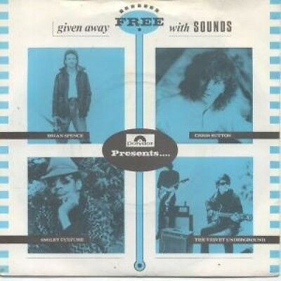 """POLYDOR PRESENTS Various 7"""" VINYL UK Polydor 4 Track Sounds Freebie Featuring"""