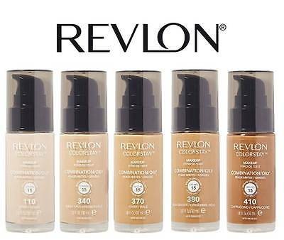 Revlon Colorstay Makeup Foundation Combination / Oily Brand New **choose Shade**