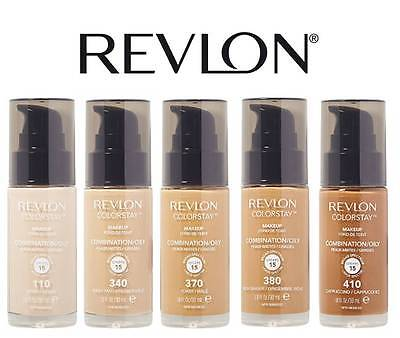 Revlon Colorstay Makeup Foundation Combination / Oily `pump` * Choose Colour *
