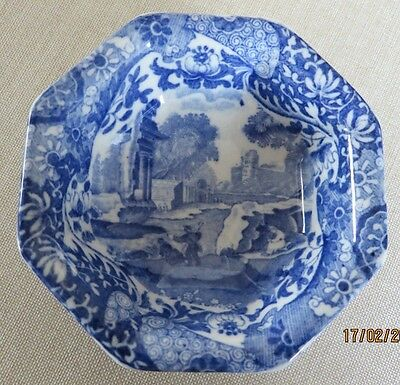 Copeland Spode's Italian Blue & White Small Bowl