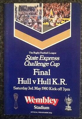 State Express Challenge Cup 1980 Final Rugby League Programme