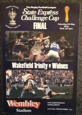 State Express Challenge Cup 1979 Final Rugby League Programme