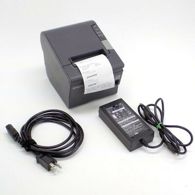Epson TM-T88V M244A POS Printer w/ USB & Parallel Connections, Low Usage
