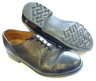 British Army - Parade Shoes Black With Toe Cap - Various Sizes - Grade 2 Used