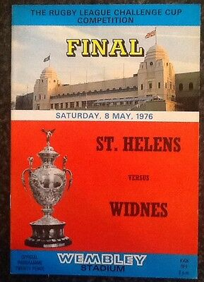 The Rl Challenge Cup Competition 1976 Final Rugby League Programme