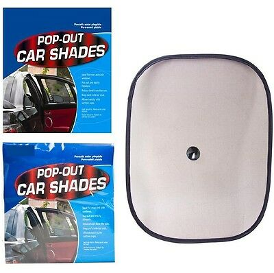 2 x Side Baby Child Pop Out Car Sun Shield Shades Protection Window UV