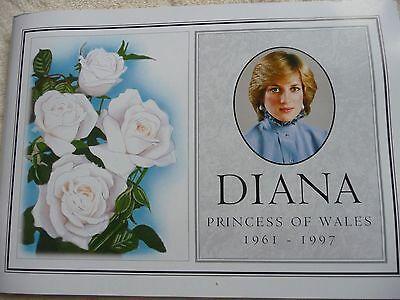 Diana Princess of Wales Omnibus Tribute Stamp Collection