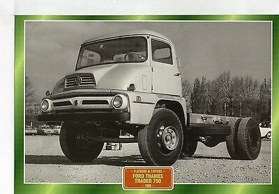 Ford Thames Trader 75D                    Glossy   Picture (T329)
