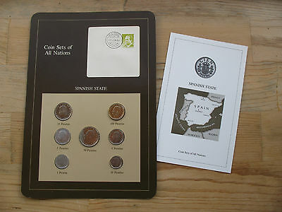 Franklin Mint: SPAIN Coin Sets of All Nations