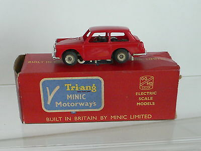 Triang Minic Motorway M1557 Austin A40 Slot Car Boxed  LOVELY CONDITION  HO/00