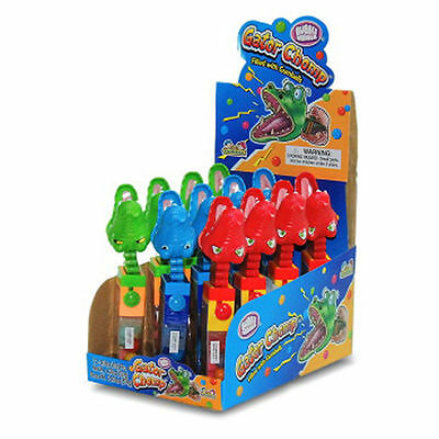 Gator Chomp Candy Lollipop, Candy Toys,  (12 Pcs in a Pack )