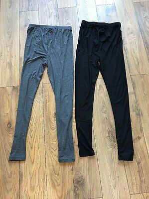 Newlook Maternity Leggings X2 Size Small