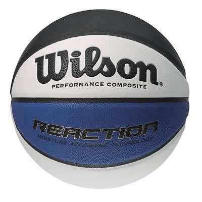 Wilson Reaction Composite Leather Basketball - Size 7 - RRP: £30