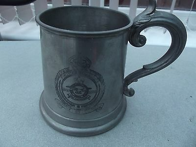 Fighter Command 'battle Of Britain'' 1940 - 1980 Pewter Tankard