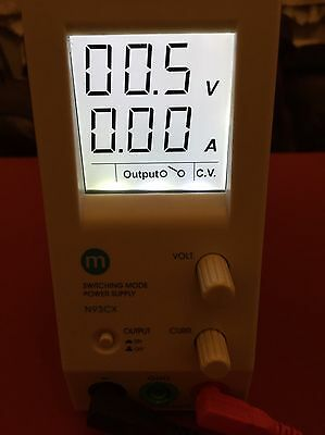 Maplin 1-20V 0-5A 100W  Bench Power Supply With Lcd Screen