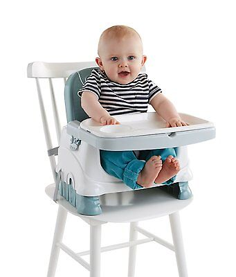 Baby Booster Chair Portable Kids Dining Seat Children Safety Tray Toddler