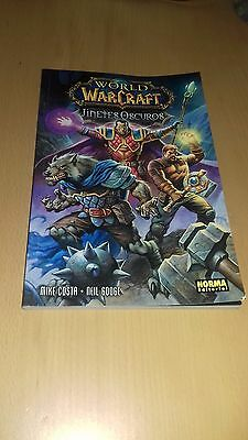 Comic World of Warcraft WOW Jinetes Oscuros Norma Editorial