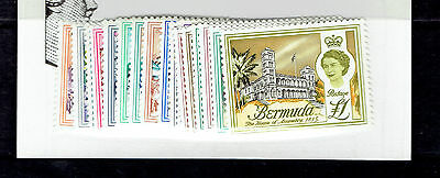 BERMUDA 175-82, 184-91 MNH  buildings architecture