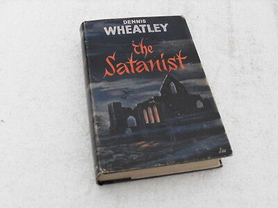 """THE SATANIST"" HB book with DJ by Dennis Wheatley 2nd edition 1961."