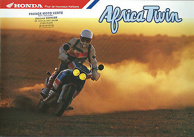 HONDA  AFRICA TWIN 650 . catalogue brochure.prospekt