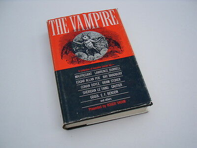 """THE VAMPIRE"" 1963 short stories compilation by famous authors. HB with DJ."